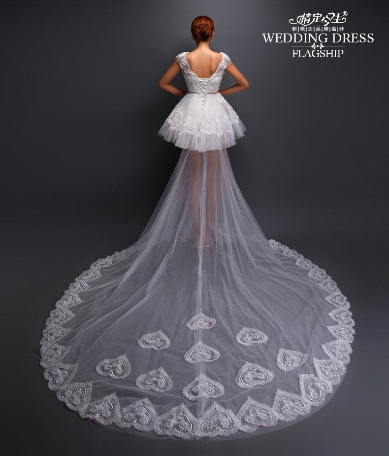 一字肩婚纱设计图素描展示图片