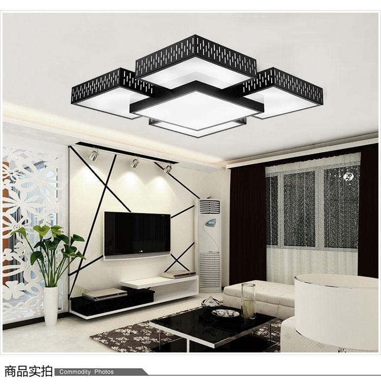 铁艺现代风格客厅大灯天空之城长城创意异型led吸顶灯饰灯